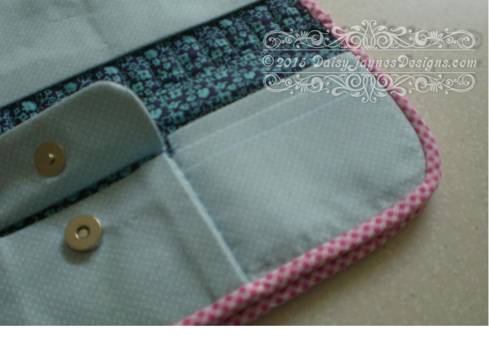 Quilt share #1 Scottie dog clutch purse (2/3)
