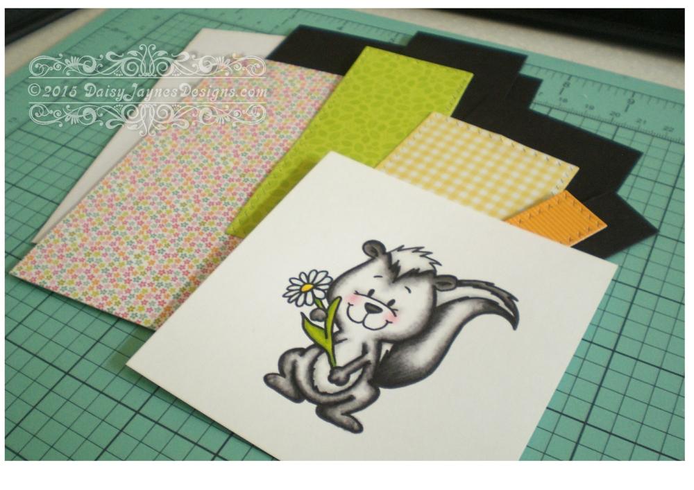 Card share #6 Gerda Steiner Skunk Digital Stamp (2/4)