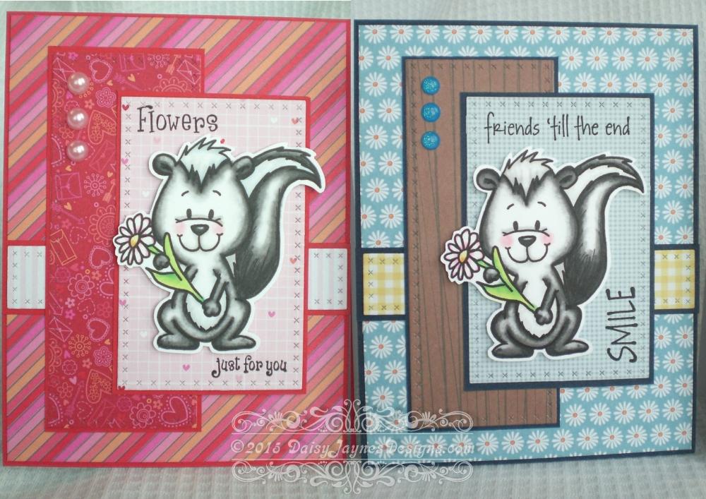 Card share #6 Gerda Steiner Skunk Digital Stamp (4/4)