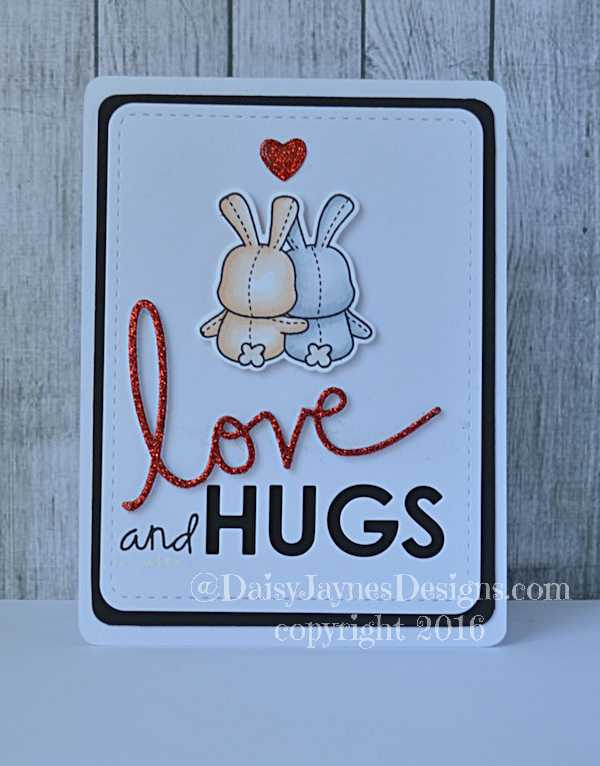 love and hugs out