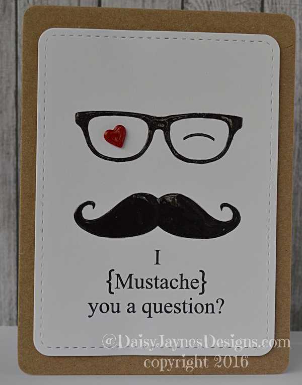 mustache u a Q