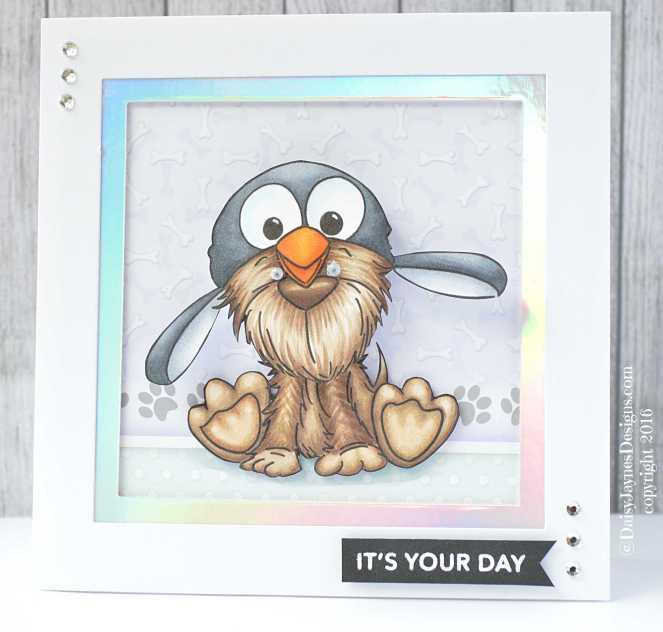 dog penguin hat