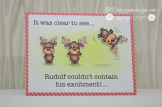 GSD excited rudolf DT